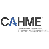 Commission of Accreditation of Healthcare Management Education.